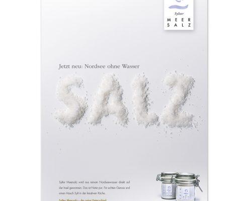 marktrausch Blog: Sylter Meersalz – Darstellung Anzeige Kampagne