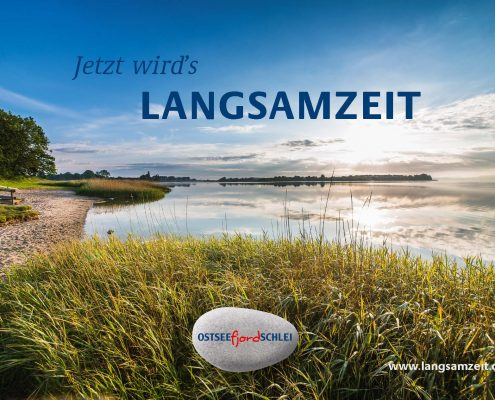 marktrausch Referenz Ostseefjord Schlei: Langsamzeit Kampagne Motiv 3