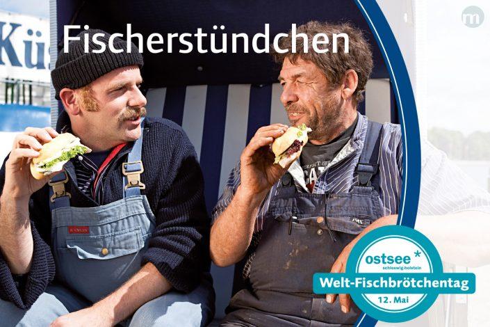 marktrausch Blog: OHT – Darstellung Postkarte Weltfischbrötchentag
