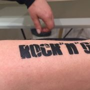 Tattoo Arm Rock'n'Go