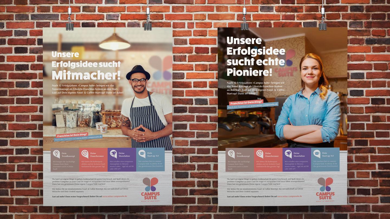 marktrausch Referenz: Campus Suite – Darstellung Plakate