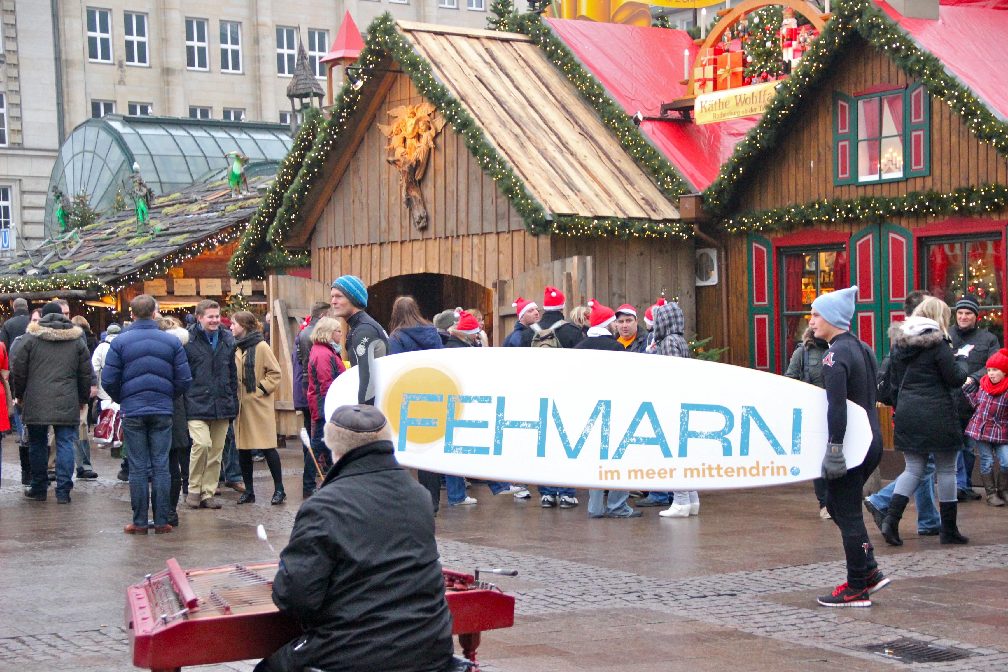marktrausch Referenz: Fehmarn – Darstellung Live Promotion