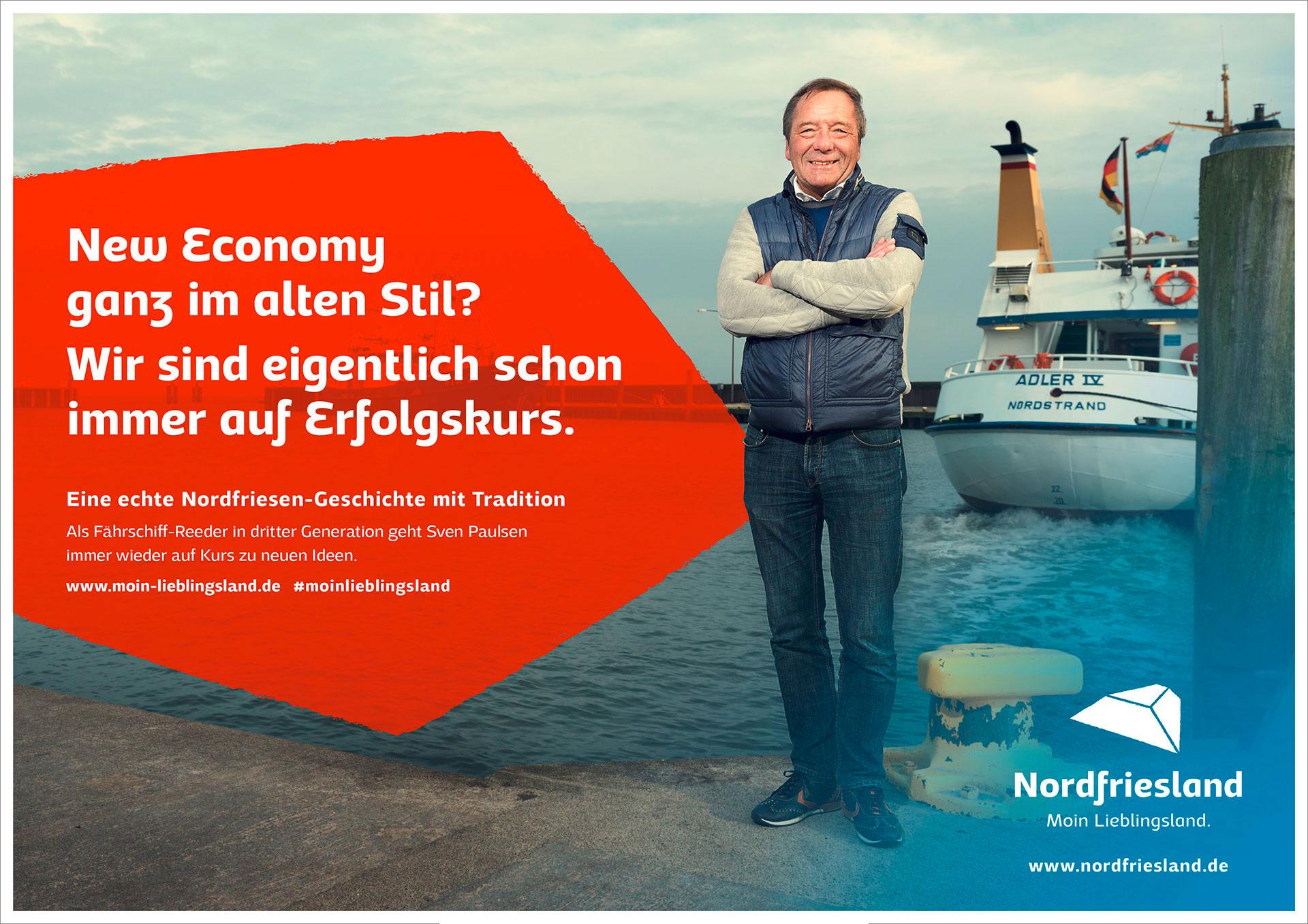 marktrausch Referenz: Kreis Nordfriesland – Darstellung Kampagne