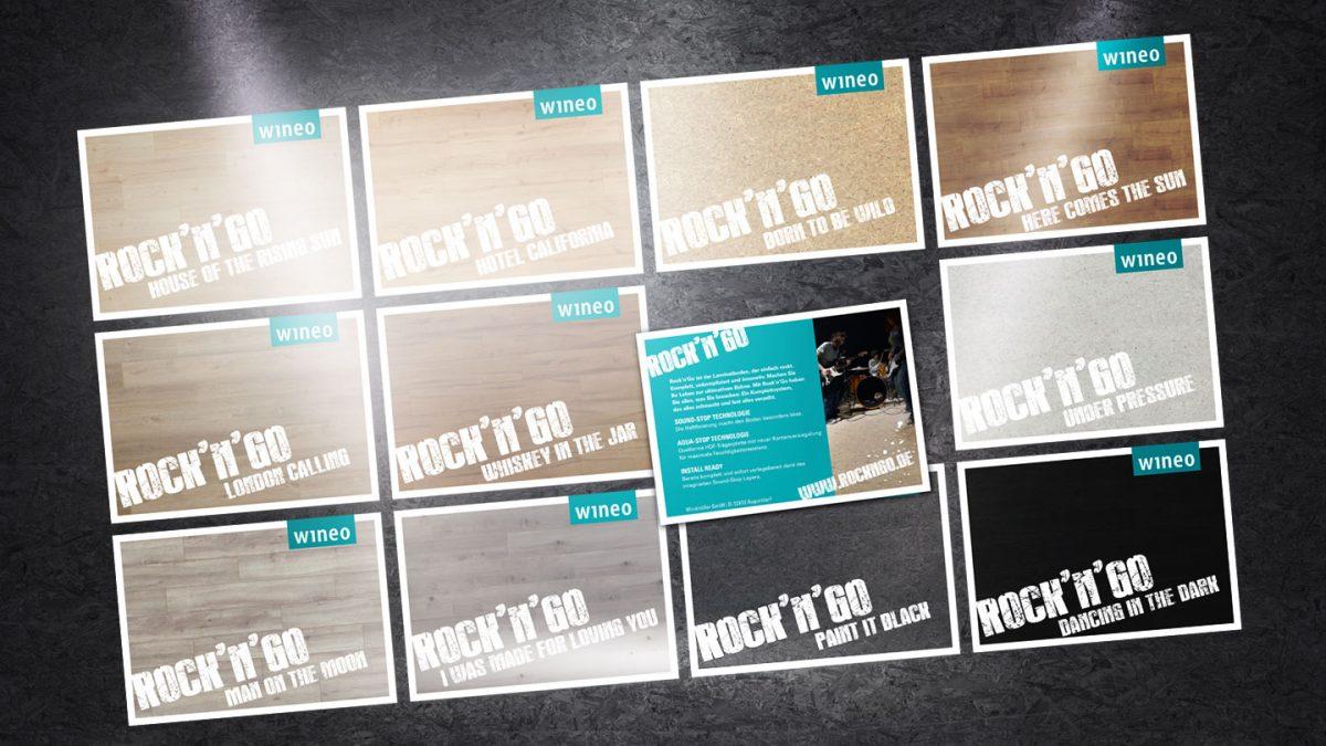 marktrausch Referenz: wineo – Darstellung Postkarten