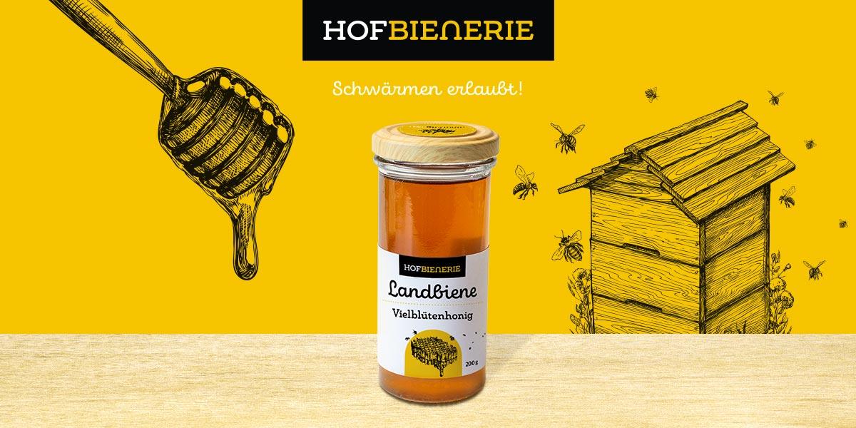 Staathilfe für die Hofbienerie aus Eckernförde - das macht nicht nur Spaß, sondern sieht auch lecker aus