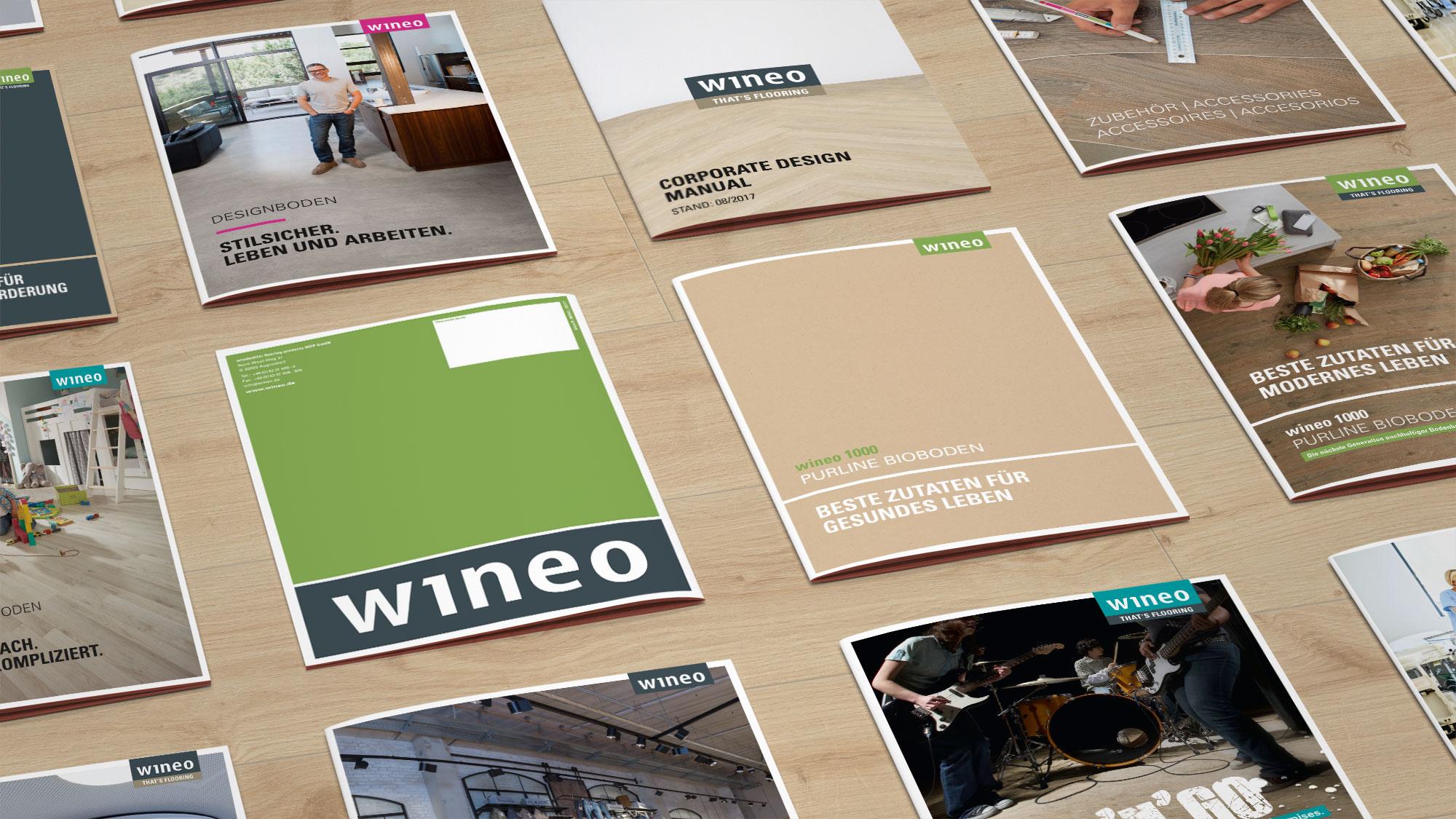 marktrausch Referenz wineo: Broschüren