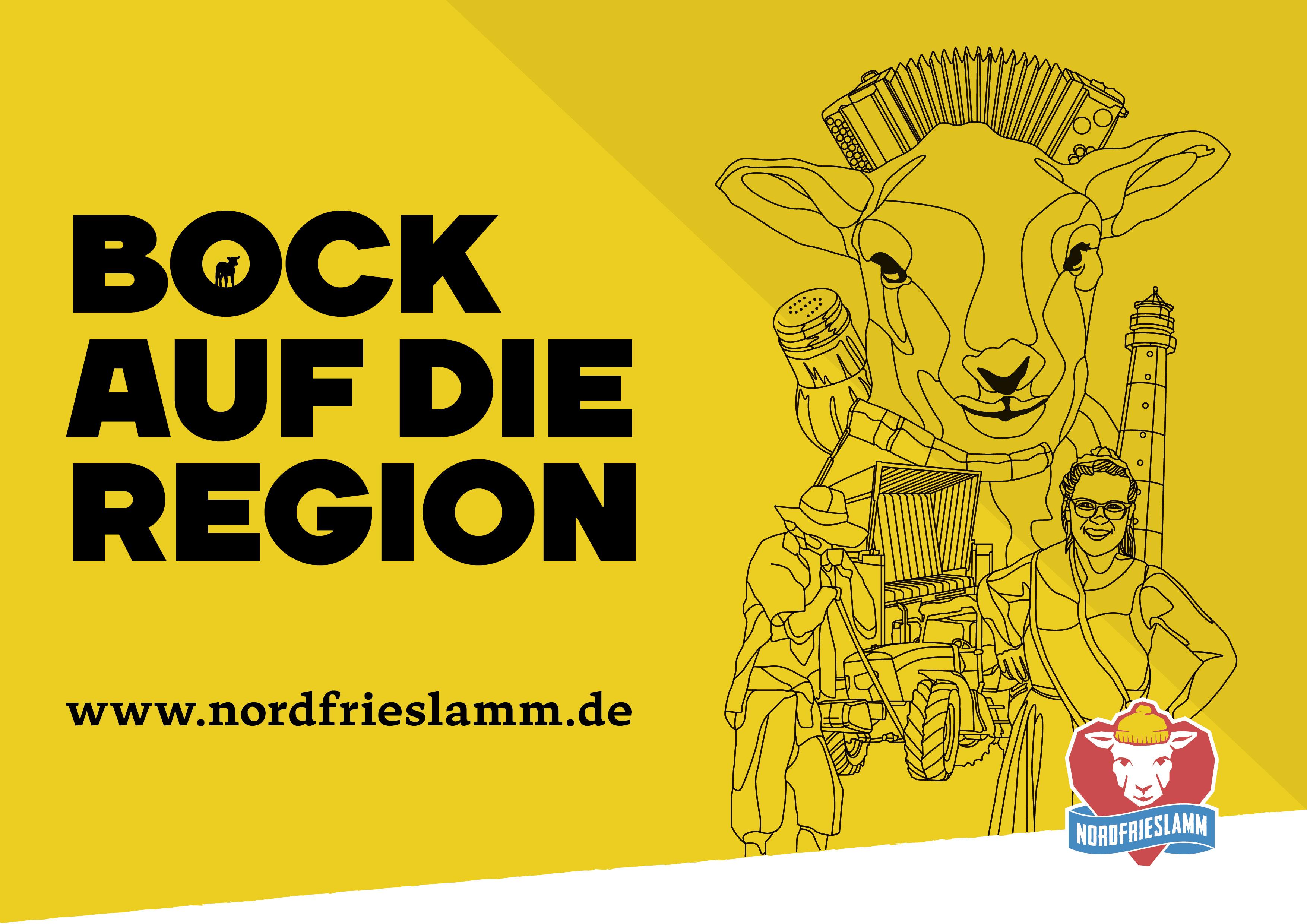 marktrausch Referenz: Kampagnen Visual_Nordfrieslamm_copyright Förderverein Nordfriesische Lammtage
