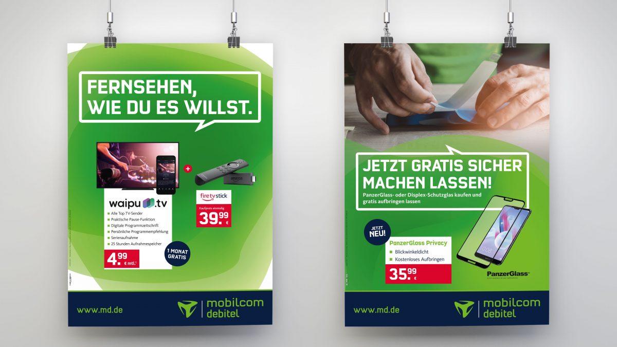 marktrausch für mobilcom-debitel: Poster