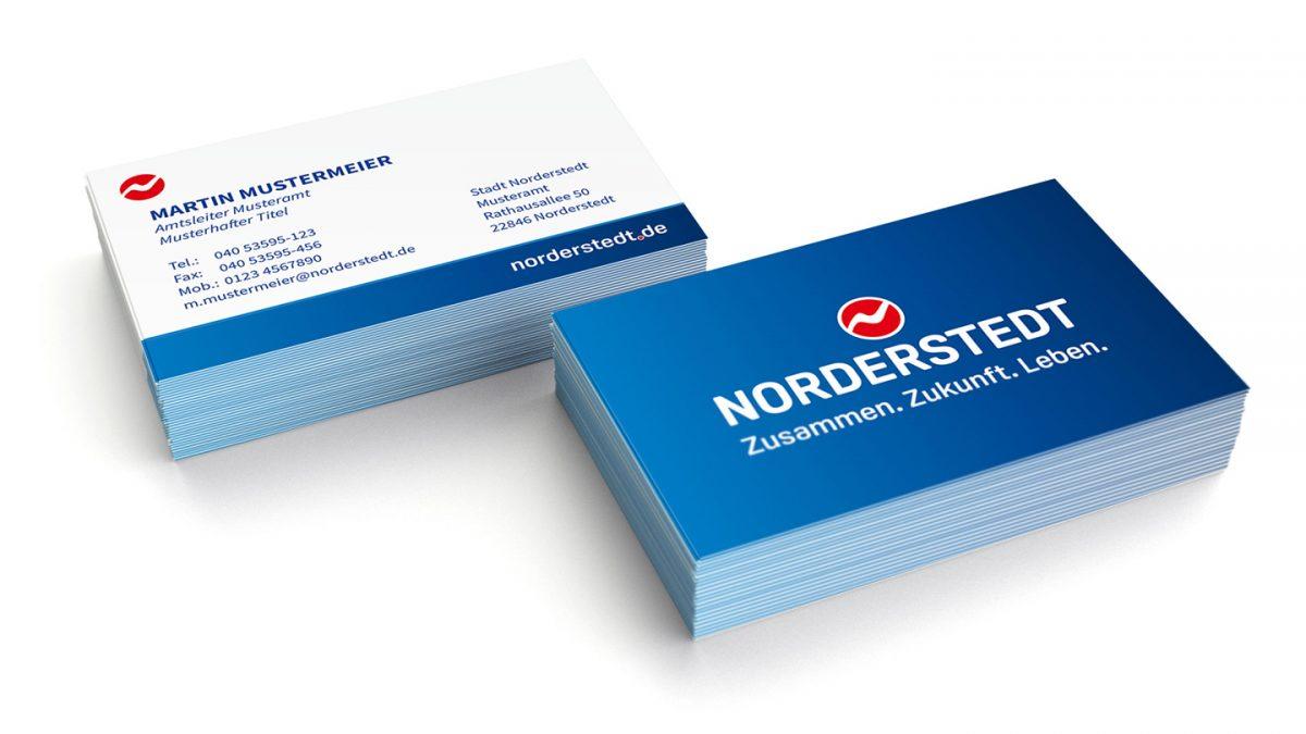 Norderstedt Mit Neuer Marke Neuem Logo Und Neuem Claim
