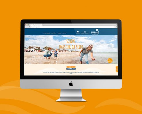 marktrausch Dahme Websiterelaunch