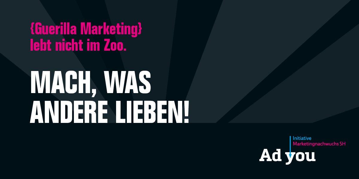 marktrausch Adyou Guerilla Marketing