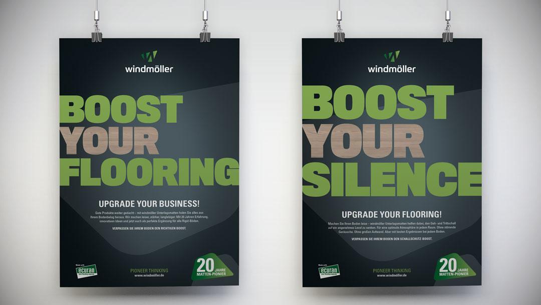 marktrausch für windmöller: Kampagne Boost your Floor