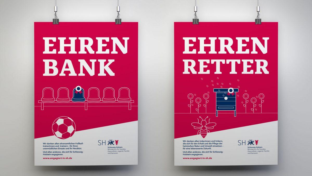 marktrausch Kampagne – Ministerium für Soziales, Gesundheit, Jugend, Familie und Senioren – Plakate