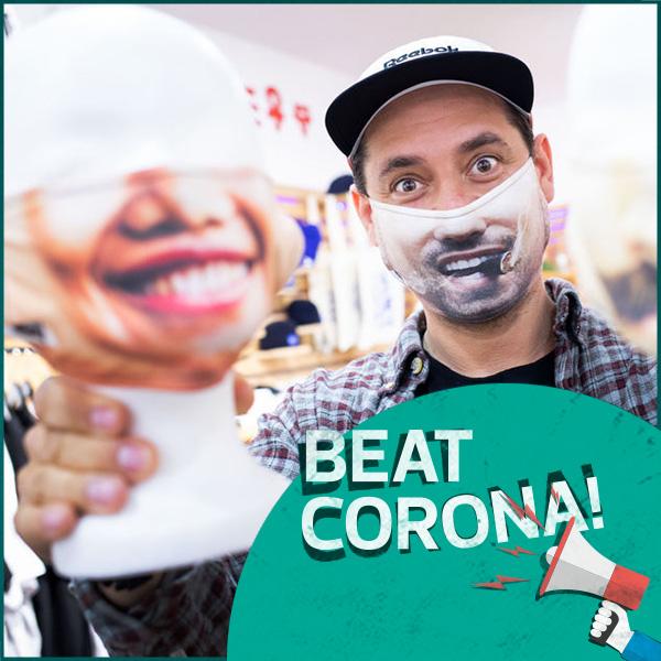 marktrausch_Beat Corona_Masken mit Lächeln