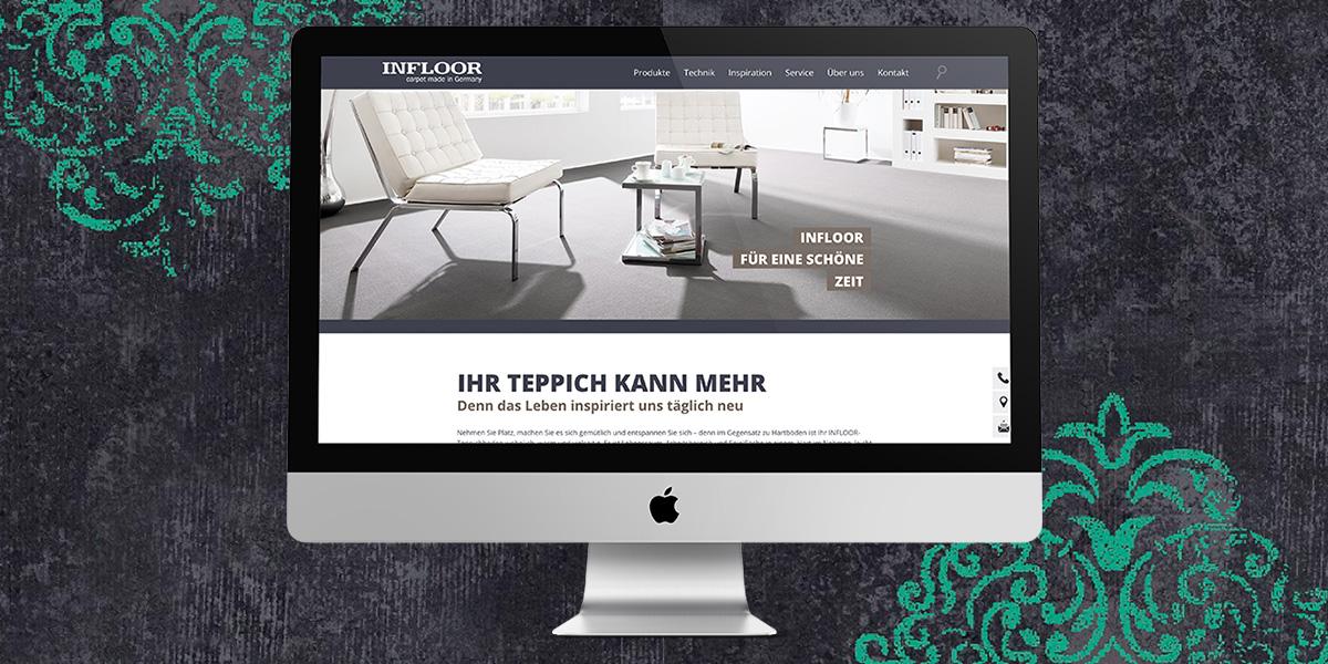 Website-Relaunch für den Teppichspezialisten Infloor